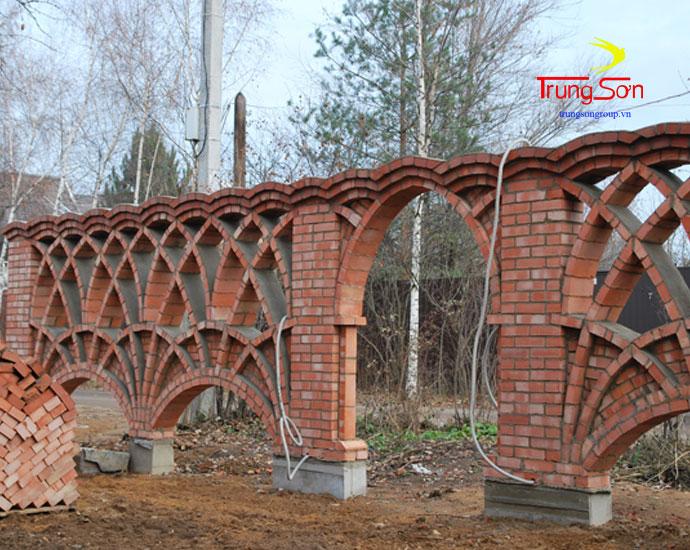 công trình kiến trúc nghệ thuật bằng gạch cổ