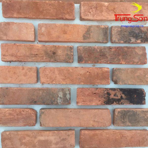 gạch cổ 5x20 màu đỏ, đen