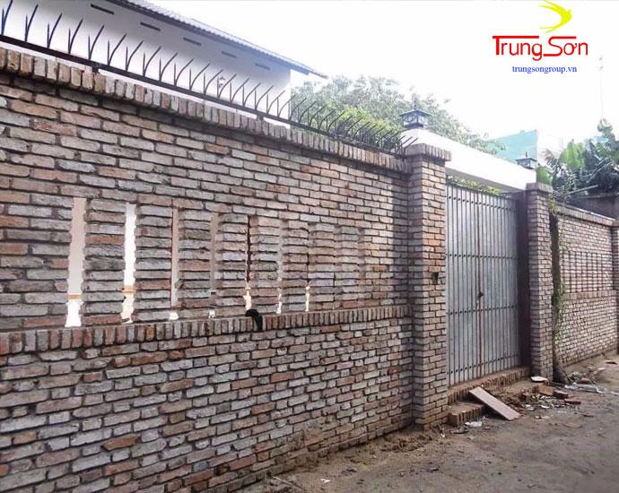 Gạch cổ pháp xây tường