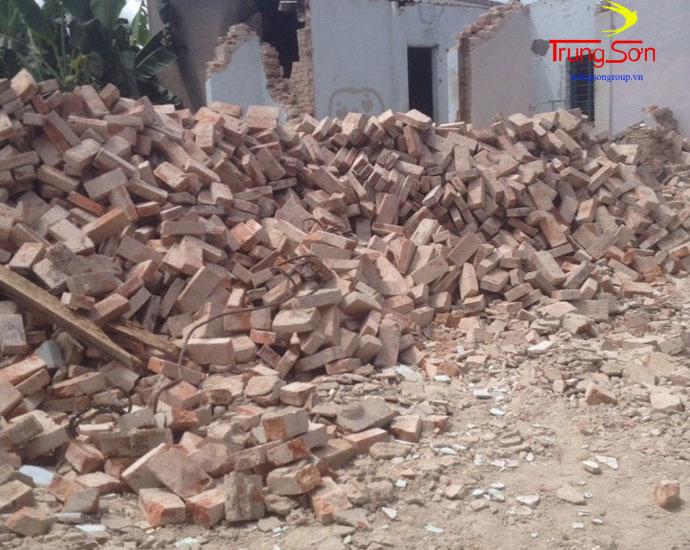 Thu mua gạch ngói cũ tại công trình